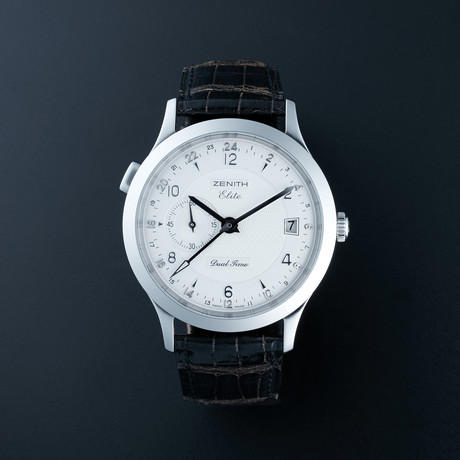 Zenith Class Elite Dual Time Automatic // 03.1125.682/02.C490 // Store Display