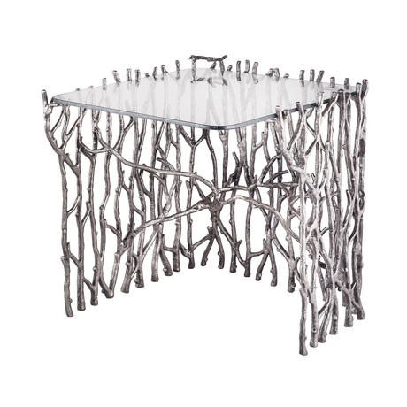 Silvered Sticks Side Table (Large)