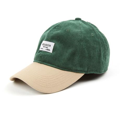 Corduroy Cap // Green