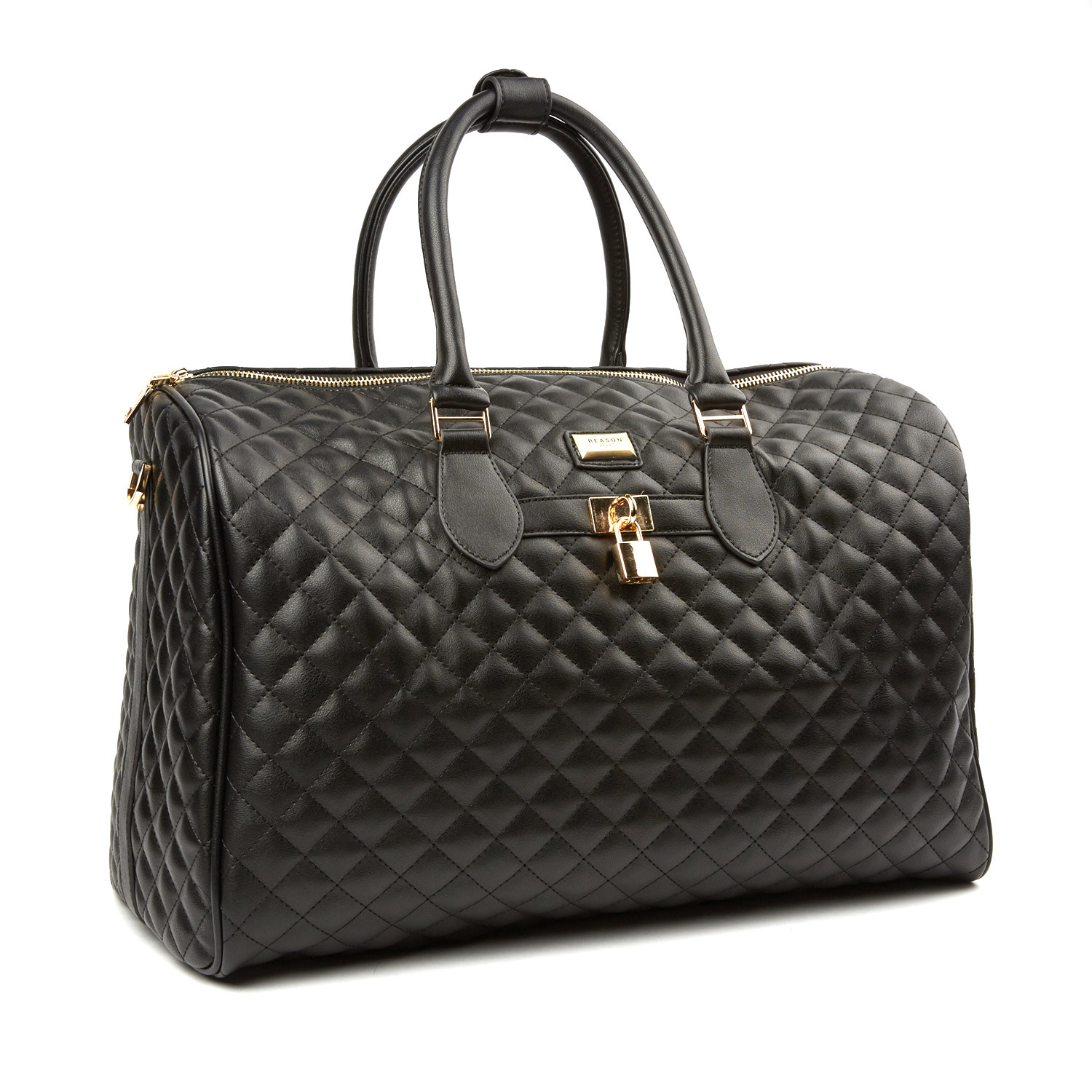 Townline Quilted Duffle Bag // Black - Reason - Touch of Modern : quilted duffle bags - Adamdwight.com