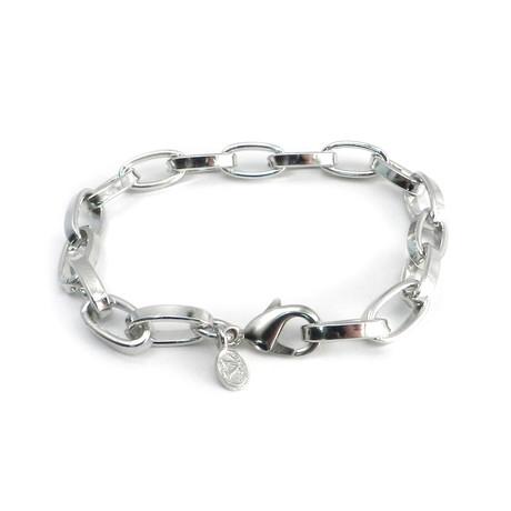 Modern Chrome Bracelet