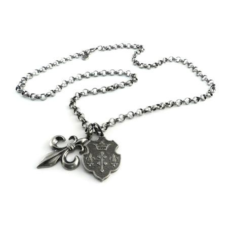 Bubble Knight Hack Necklace + Fleur Pair