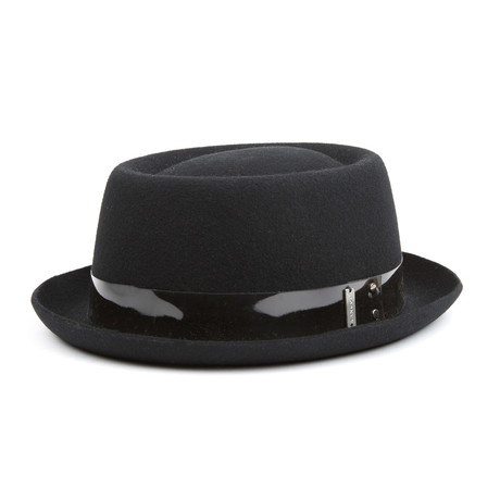 Trans Pork Pie Hat // Black