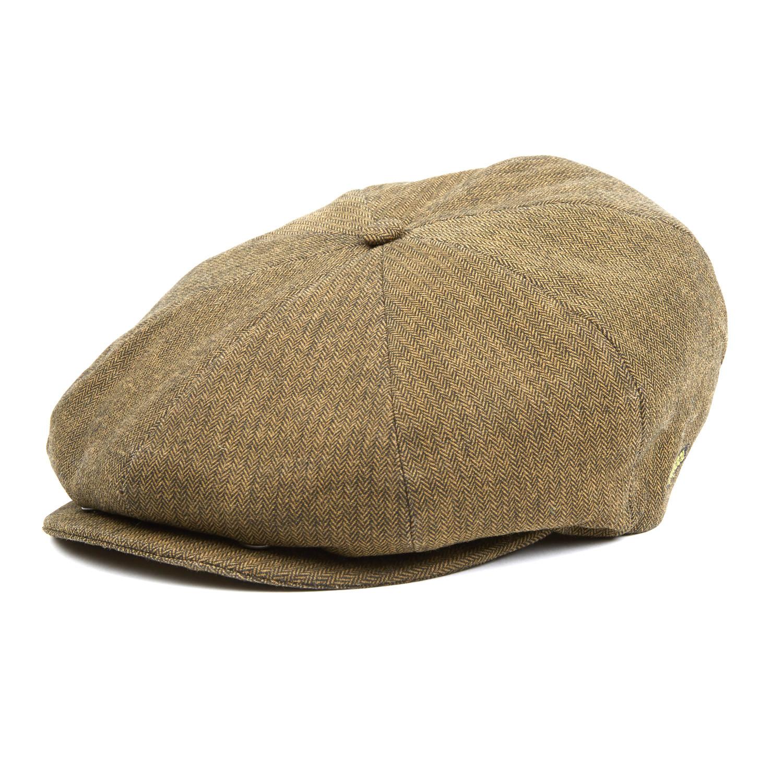 Tweed Ripley Flat Cap    Herringbone Check (S) - Kangol - Touch of ... 8b89553beeb