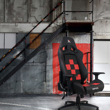 Gaming Chair // Black + Red