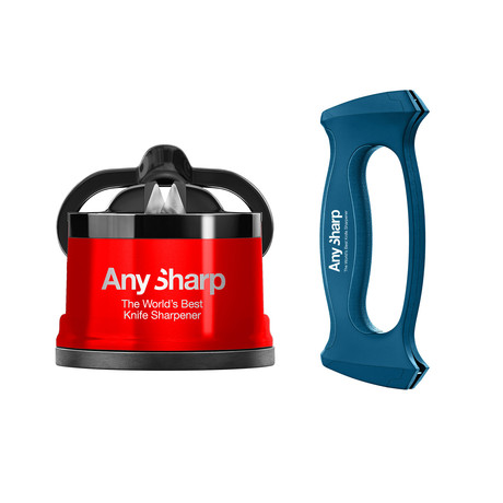 AnySharp Pro Red + Multitool Sharpener