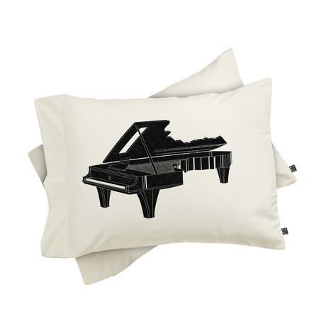 Music Is The Key 1 // Pillow Case // Set of 2