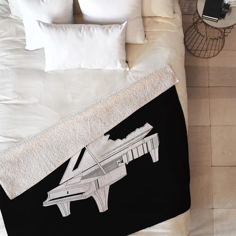 Music Is The Key 2 // Fleece Throw Blanket (Medium)