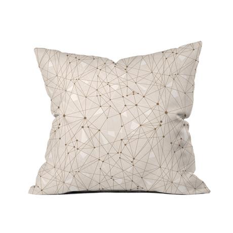 """Atlantis TN // Throw Pillow (18"""" x 18"""")"""
