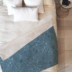 Atlantis BL // Fleece Throw Blanket (Medium)