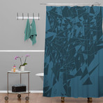 Glass BG // Shower Curtain
