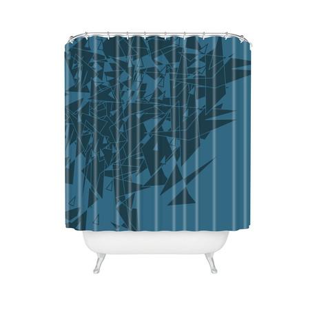 Glass BG // Shower Curtain