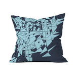 "Glass DB // Throw Pillow (18"" x 18"")"