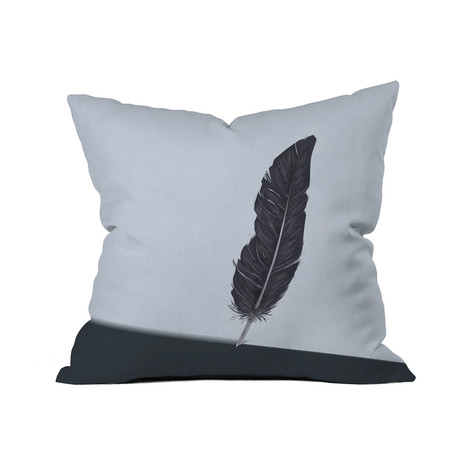 "Quill // Throw Pillow (18"" x 18"")"