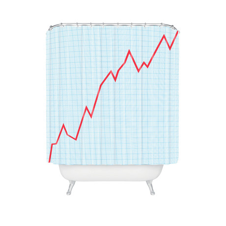 Things Are Looking Up // Shower Curtain