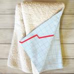 Things Are Looking Up // Fleece Throw Blanket (Medium)