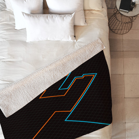 End of Line // Fleece Throw Blanket (Medium)