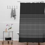 Gradient Dark // Shower Curtain