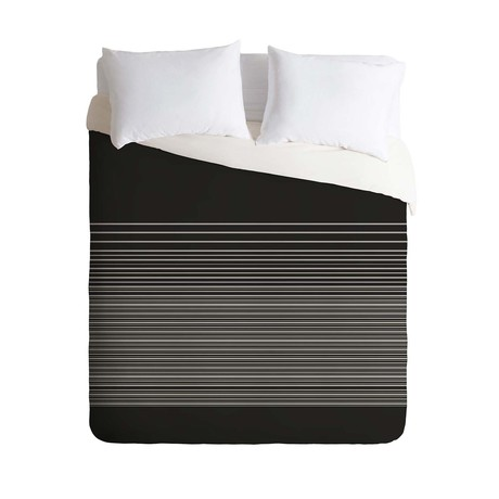 Gradient Dark // Duvet Cover (Twin)