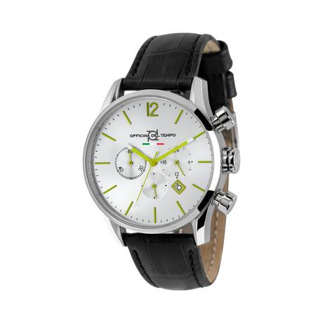 Officina del Tempo Style Minimal Chonograph Quartz // OT1033-1100AYN