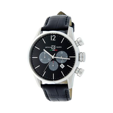 Officina del Tempo Style Minimal Chonograph Quartz // OT1033-1100N