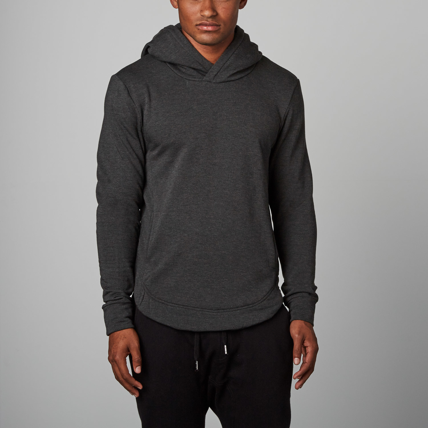 acdcae8ae A1 Fitted Pullover // Charcoal Fleece (L) - AROS - Touch of Modern
