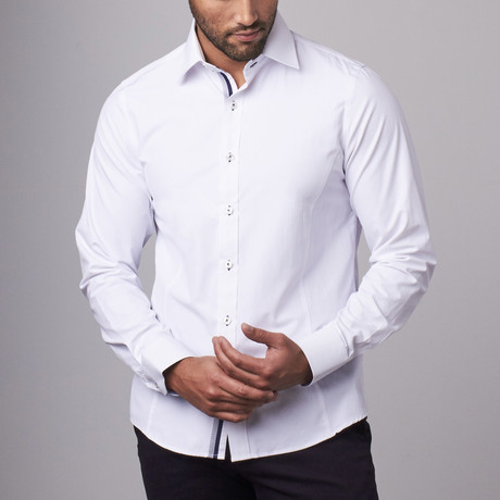 Classic Dress Shirt  // White