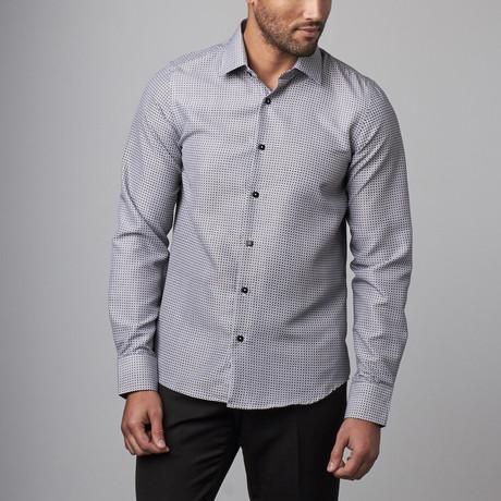 Dress Shirt  // White + Black