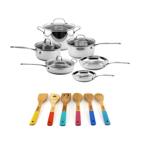 EarthChef Premium Copper Cookware Set