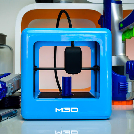 The Micro 3D Printer // Blue