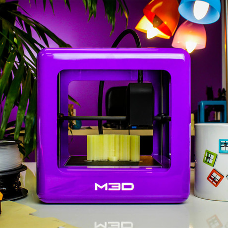 The Micro 3D Printer // Purple