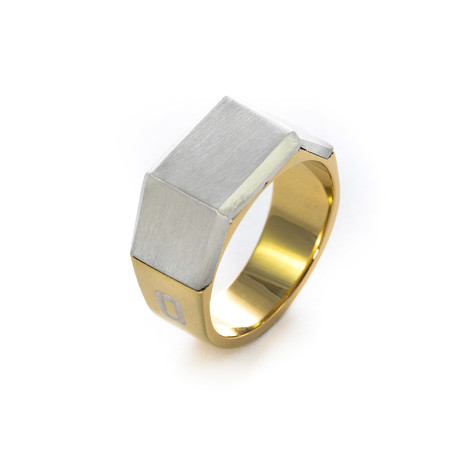 Sila // Steel + Gold (Size: 8)