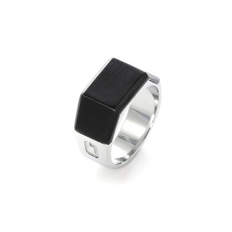 Sila // Black + Steel (Size: 8)
