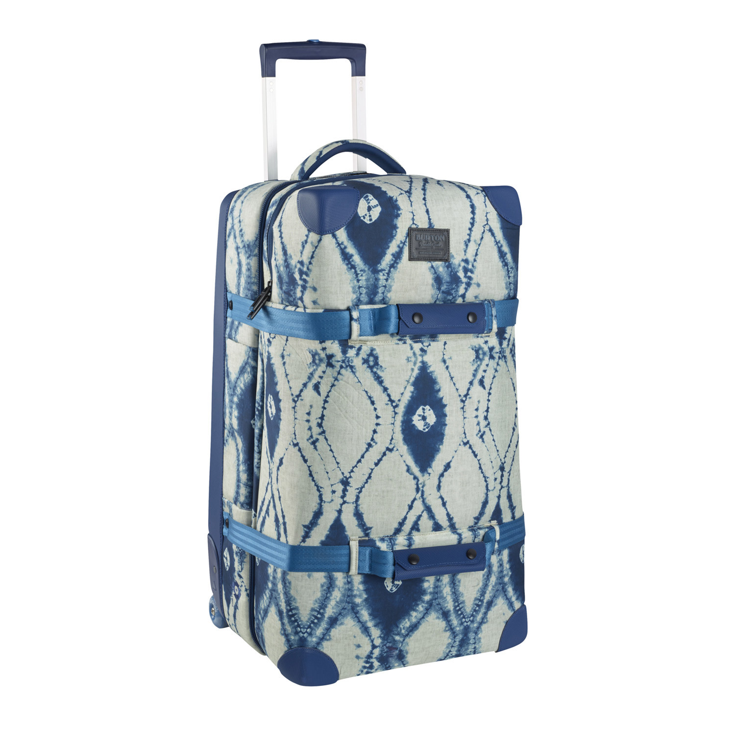 Wheelie Double Deck Travel Bag (Blue + White) - Burton Snowboards ... 3cb97b25ff351