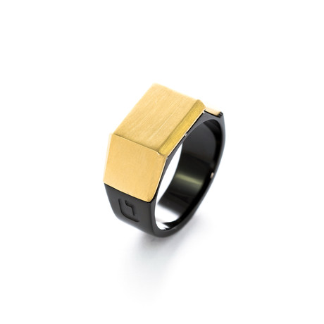 Sila // Gold + Black (Size: 8)