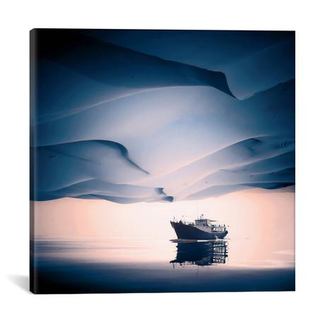 """Desertir // Eugene Soloviev (18""""W x 18""""H x 0.75""""D)"""