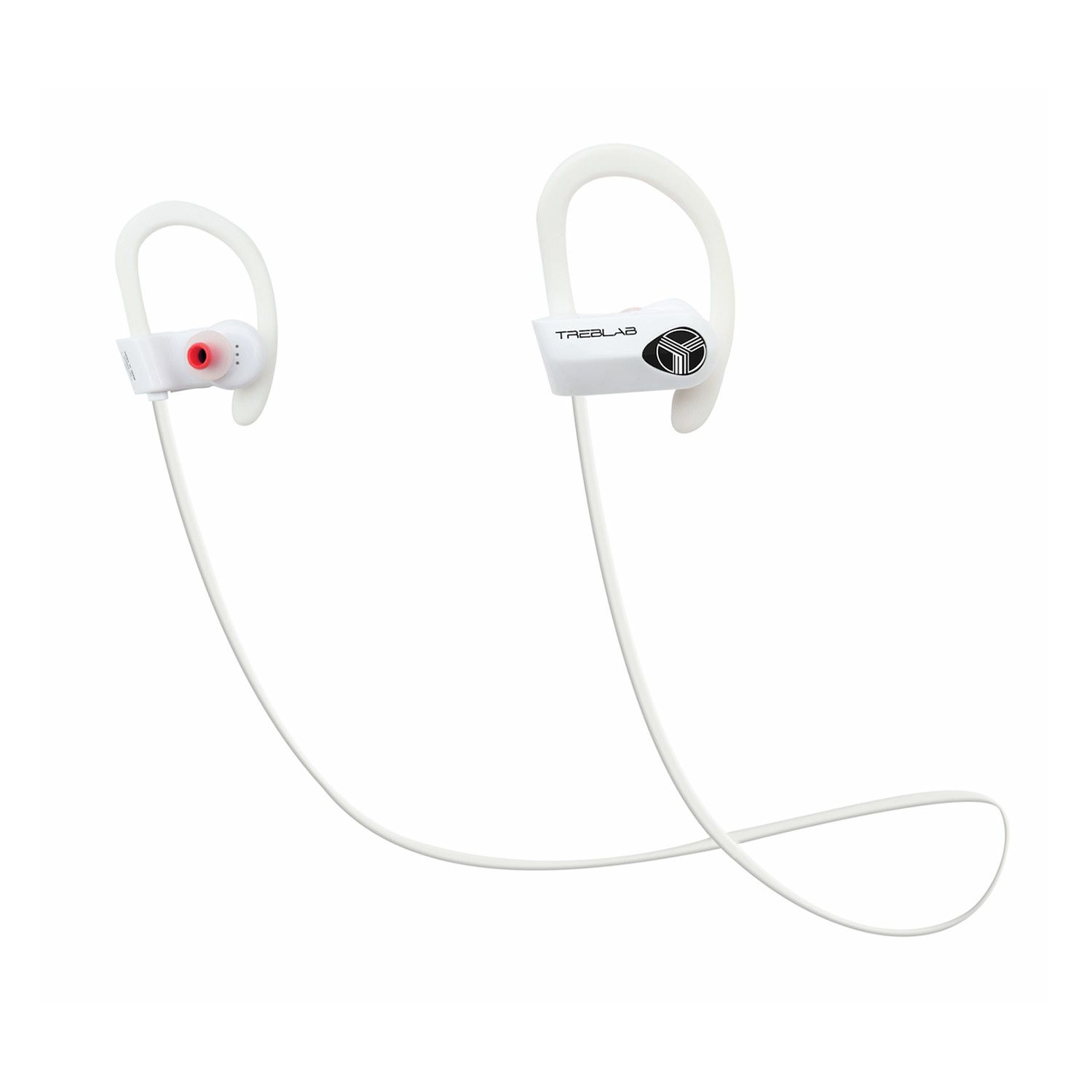xr500 waterproof bluetooth earbuds white treblab touch of modern. Black Bedroom Furniture Sets. Home Design Ideas