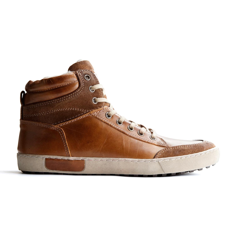 6e23a2030367d7 Travelin Outdoor    Fleece-Lined Sandvik High-Top Sneaker    Cognac ...
