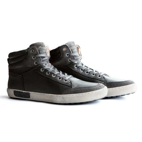 Sandvik High-Top Sneaker // Grey