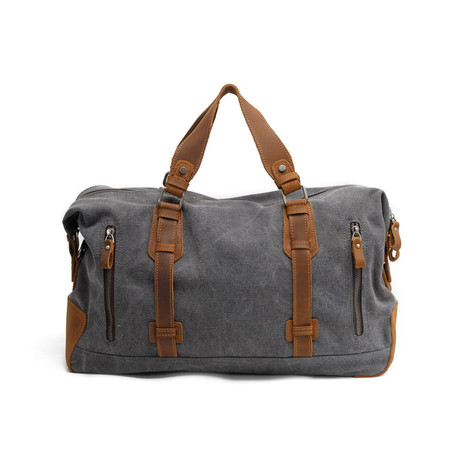 Logan Weekender // Leather + Canvas
