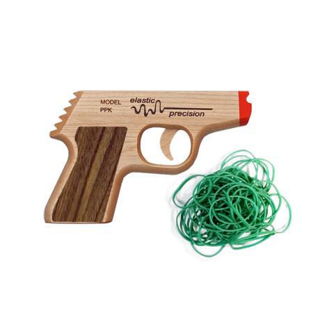 PPK // Rubber Band Gun