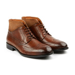 Graham Lace Up Boot // Tan (US: 8)
