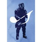 "Sound Defense // Rob Dobi (26""W x 40""H x 1.5""D)"