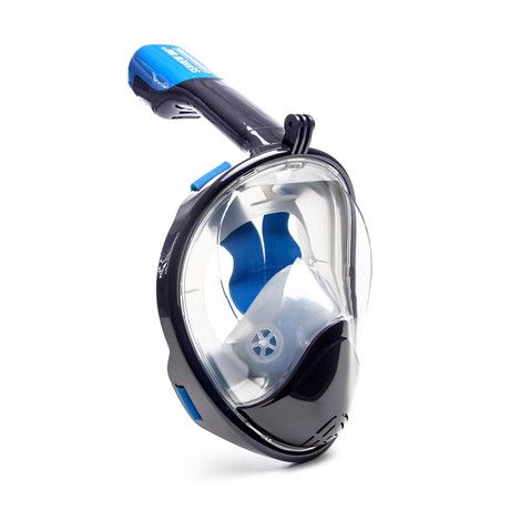 Seaview 180° Full Face Snorkel Mask // Navy // F