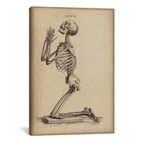 A Praying Skeleton