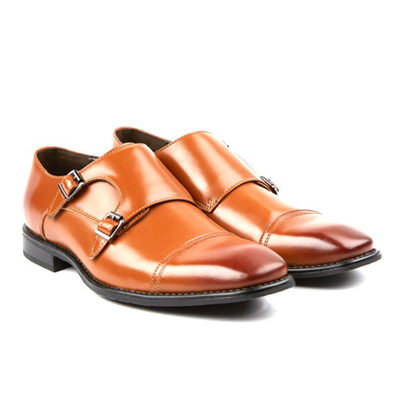 Woodmere II Double Monkstrap // Tan (US: 8)