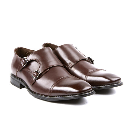 Woodmere II Double Monkstrap // Burgundy (US: 8)