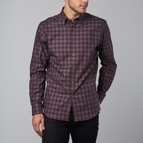 Romsey Button-Up // Brown