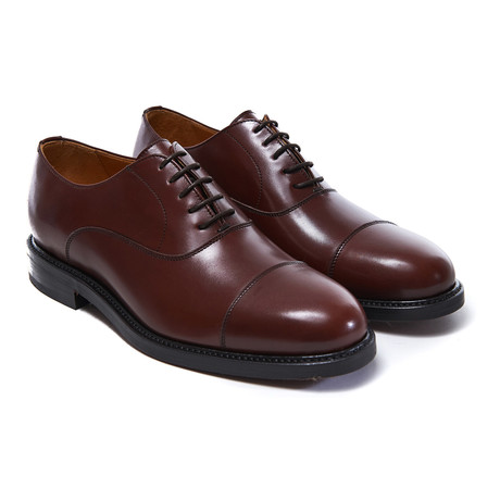 Cap-Toe Oxford // Brown