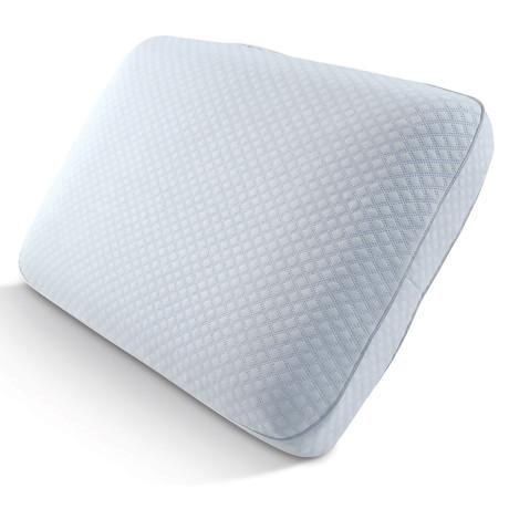 "Artic Sleep Europeutic Big + Soft Cooling Gel Memory Foam Gel Pillow + 2"" Gusset"